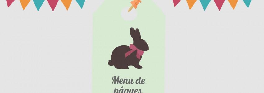 Menu de Pâques 2019