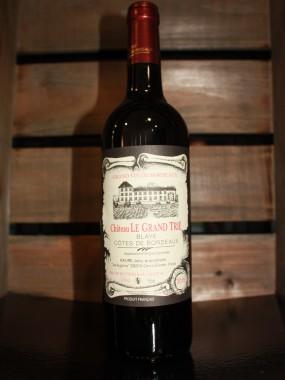 CHAT.  LE GRAND TRIE Côtes de Blaye AOC**rouge**
