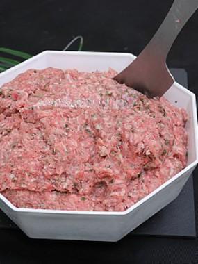 Hachis porc et veau préparé