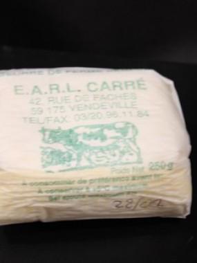 Beurre de ferme demi sel 250 gr